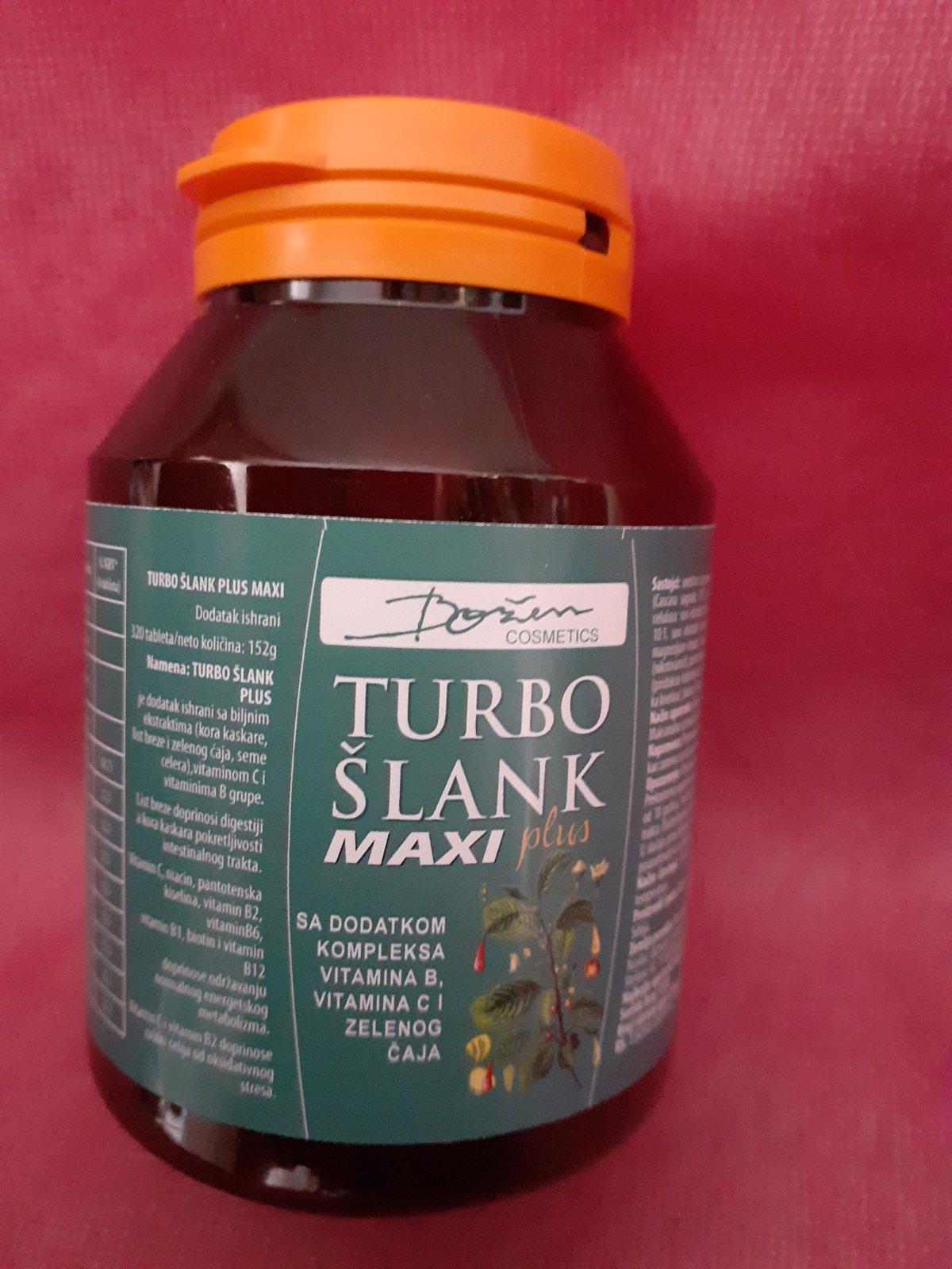 TURBO ŠLANK PLUS MAXI 320 TABLETA